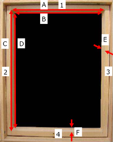 custom blind measurements
